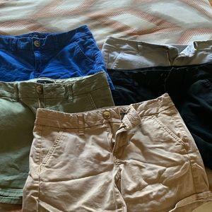 5 Pairs American Eagle Midi Shorts